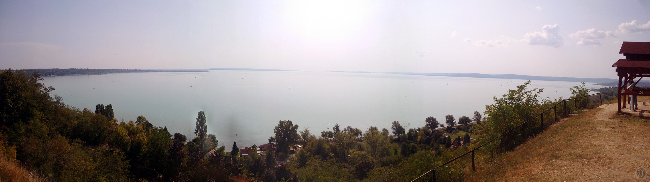 Lake Balaton Shoreline - Panorama
