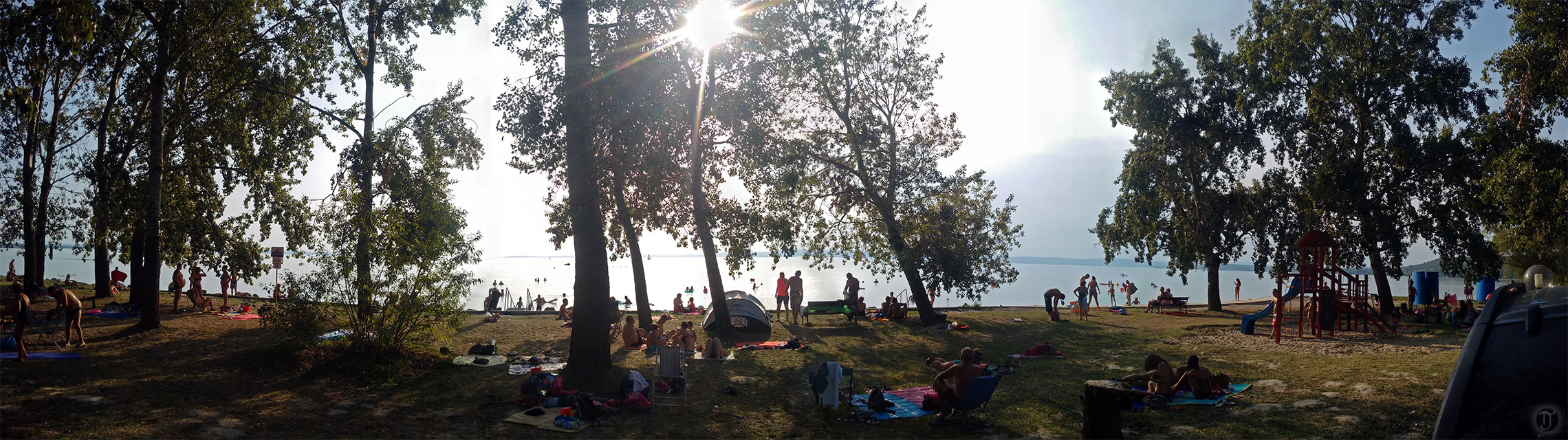 Lake Balaton Public Beach