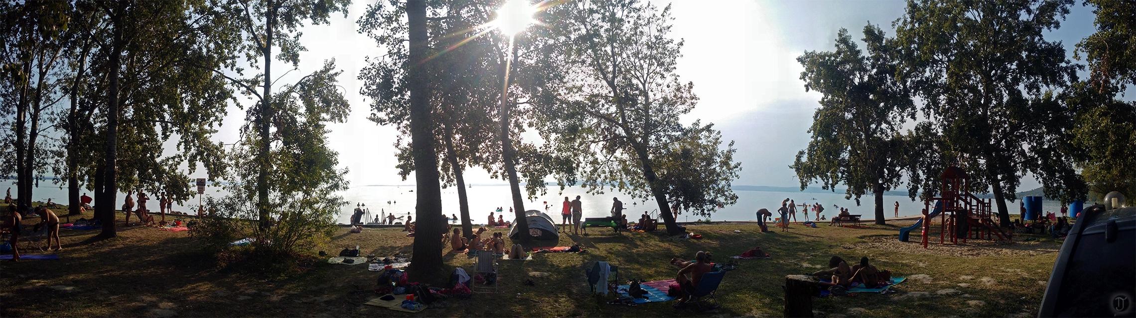 Lake Balaton Public Beach