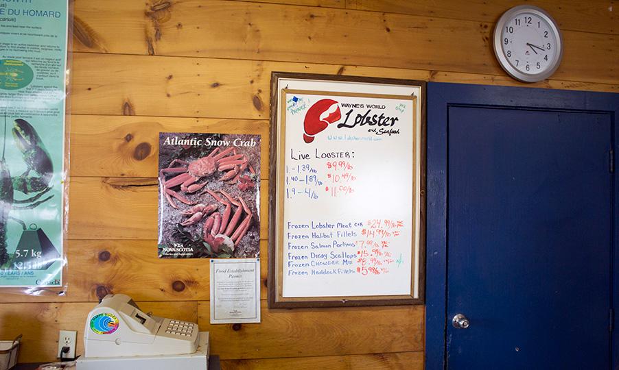 Wayne's World Lobster Prices.