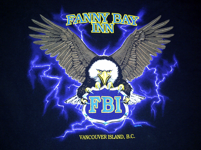 Fanny Bay Inn T-shirt circa 1988