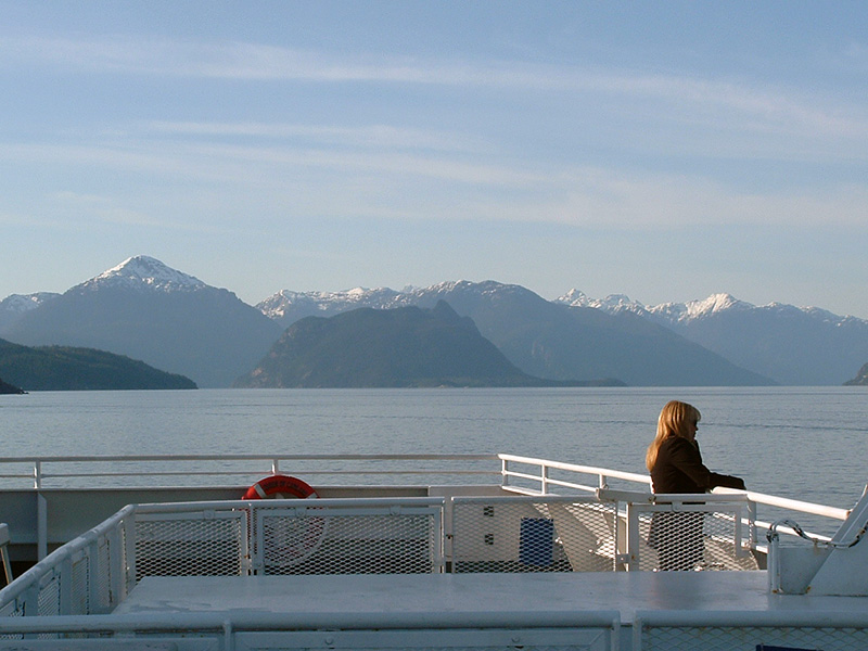 West Coast Ferry to Bowen Island