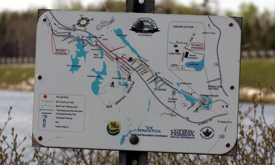 Cranberry Lake on BLT