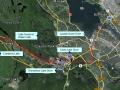 BLT Bike Ride Google Earth