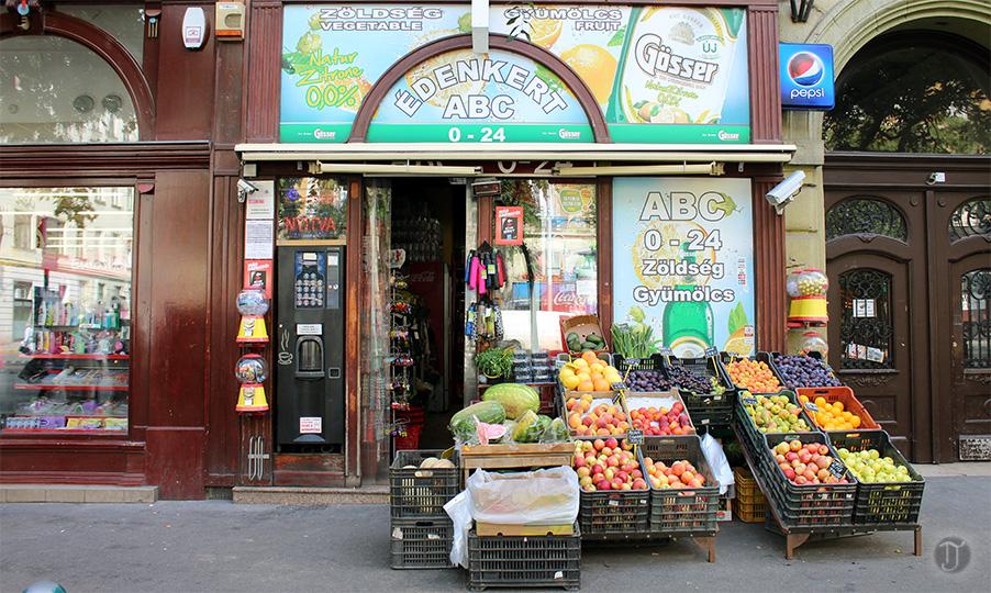 Budapest Jewish Quarter