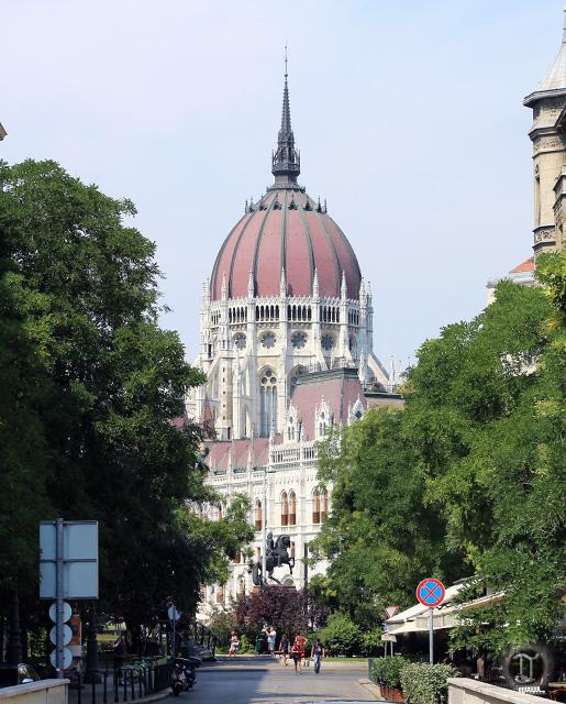 Budapest Parliament Area