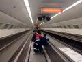 Metro Escalator