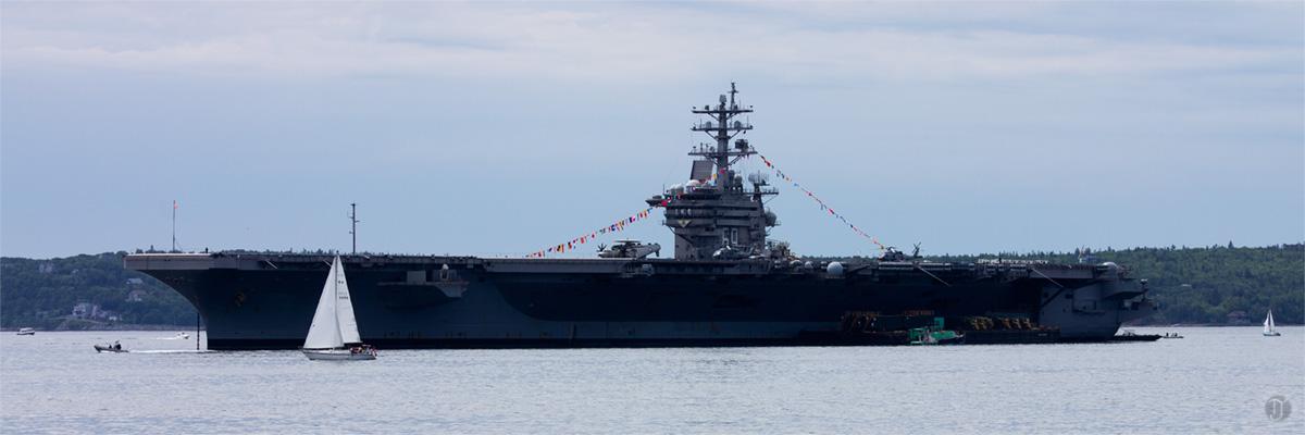 USS Eisenhauer Halifax Harbour