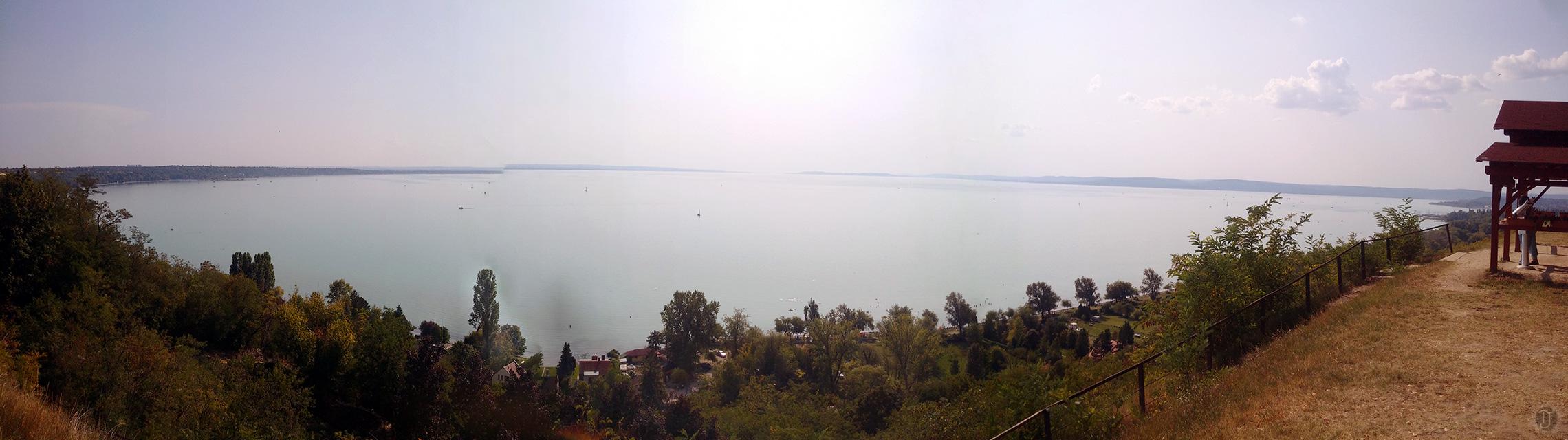 Lake Balaton Shoreline - Panorama