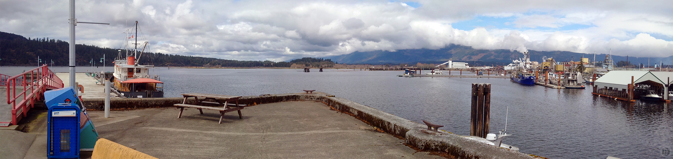 Port Alberni Harbour Panorama