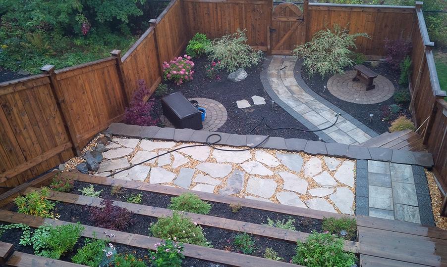 Backyard Garden October 2014