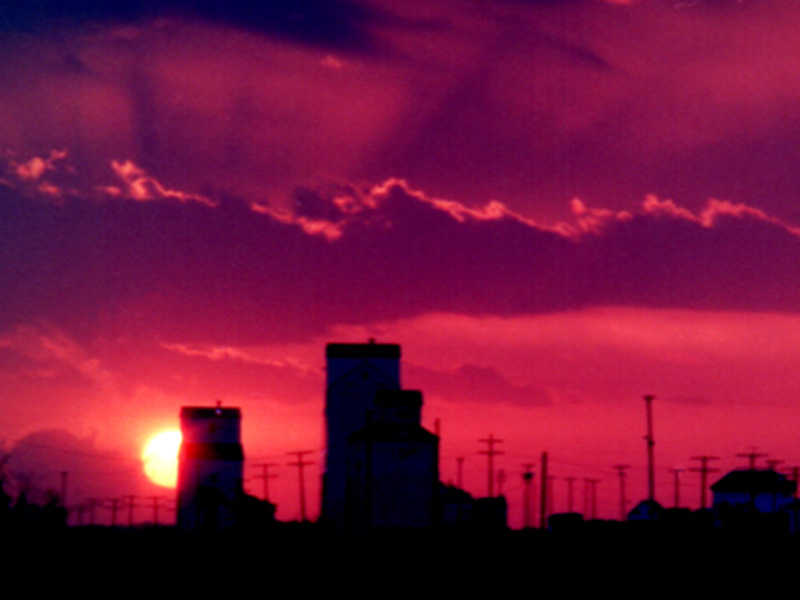 Prairie Sunset circa 1985