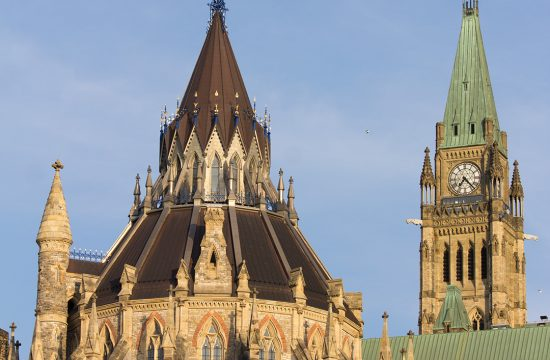 Parliament Hill Library & Centre Block Tower